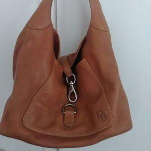 Dooney and Bourke Tan leather Hobo